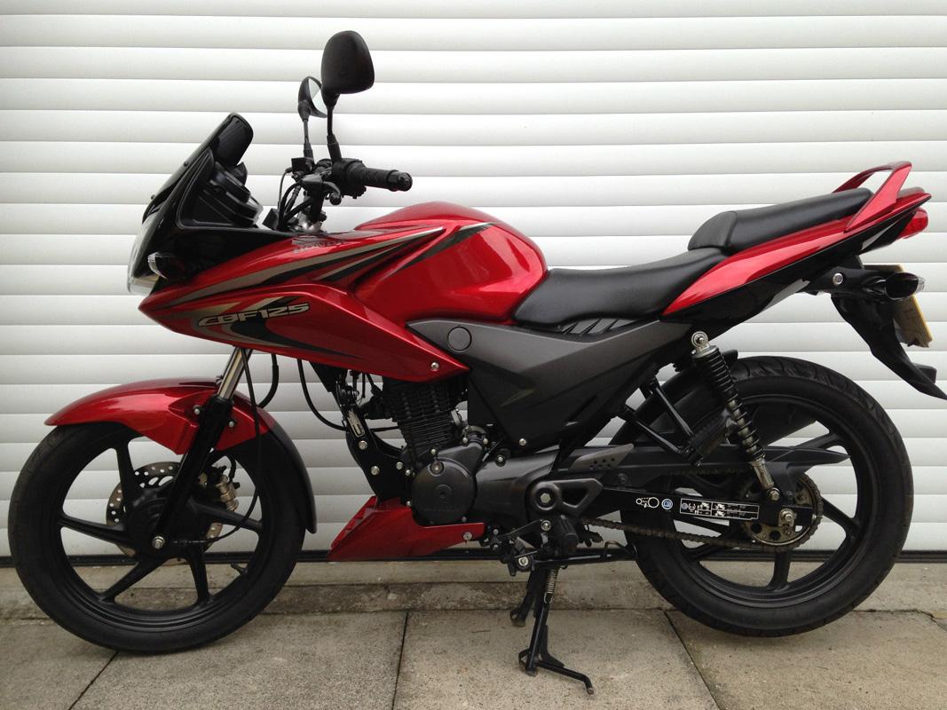 cheltenham motorcycles honda cbf 125 m d for sale. Black Bedroom Furniture Sets. Home Design Ideas
